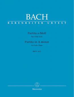 Partita in a-Moll BWV 1013 für Flöte solo