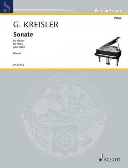 Sonate für KlavierStandard