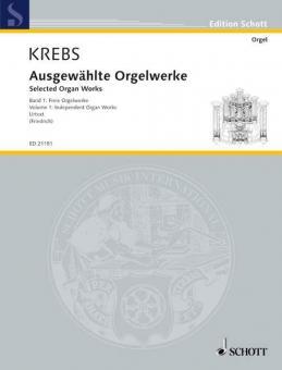 Ausgewählte Orgelwerke Band 1Standard