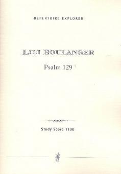 Psalm 129 für Bariton und Orchester