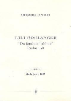 Du fond de l'abîme' Psalm 130