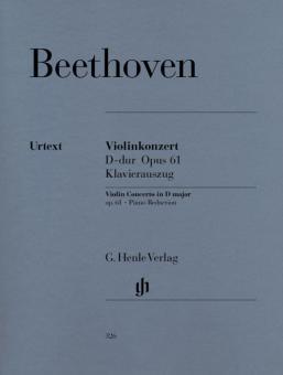 Violinkonzert D-Dur op. 61