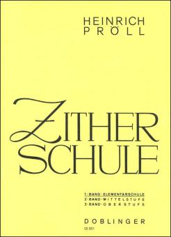 Zitherschule Band 1