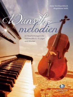 Wunschmelodien - Mappe mit Klavier- und Cellostimme
