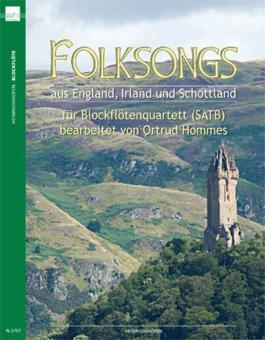 Folksongs aus England, Irland und Schottland