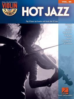 Violin Play-Along Vol. 36: Hot Jazz