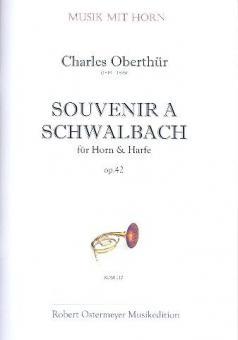 Souvenir a Schwalbach op. 42 (1860) für Horn und Harfe