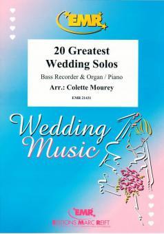 20 Greatest Wedding SolosStandard