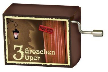 Spieluhr 'Mackie Messer' - Dreigroschenoper