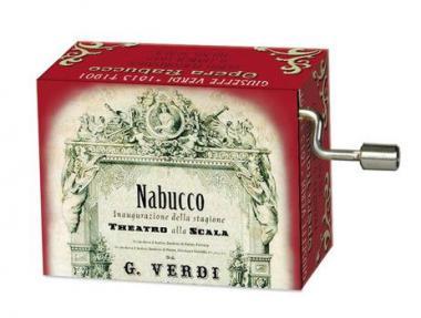 Spieluhr 'Gefangenenchor' - Nabucco