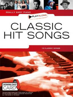 Really Easy Piano Playalong: Classic Hit Songs