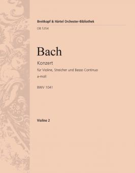 Konzert in a-Moll BWV 1041