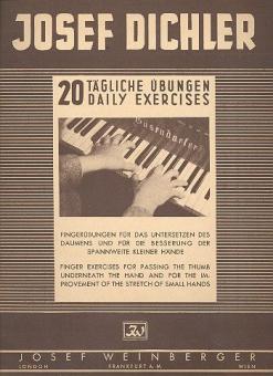 20 tägliche Übungen