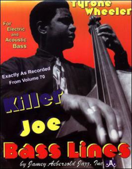 Bass Lines Aebersold Vol. 70 - Killer Joe