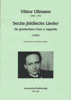 6 jiddische Lieder (1943)
