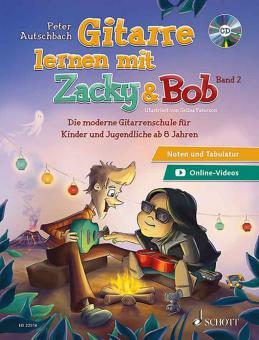 Gitarre lernen mit Zacky & Bob 2