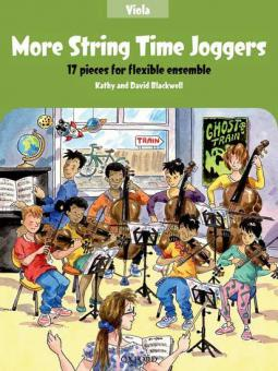 More String Time Joggers - Viola
