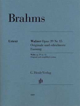 Walzer op. 39 Nr. 15