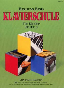 Basis Klavierschule für Kinder Band 3