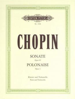 Sonate op. 65, Polonaise brillante op. 3