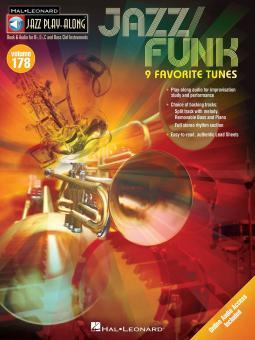 Jazz Play-Along Vol. 178: Jazz/Funk
