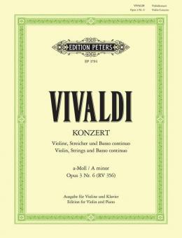 Konzert a-Moll op. 3 Nr. 6 RV 356