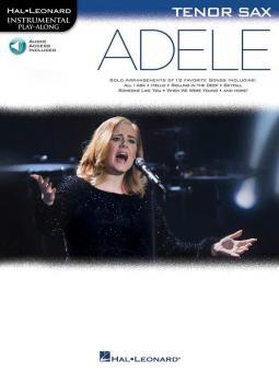 Adele - Instrumental Play Along for Tenor Sax