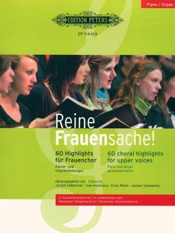 Reine Frauensache 1 - 22 Klavier- und Orgelbegleitungen