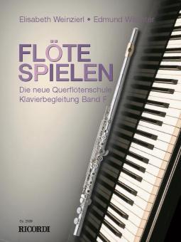 Flöte Spielen Band F: Klavierbegleitungen
