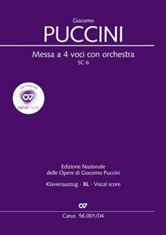 Messa di Gloria SC 6 - Klavierauszug XL
