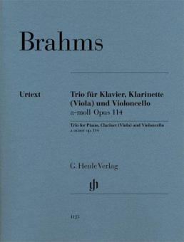 Trio a-moll op. 114