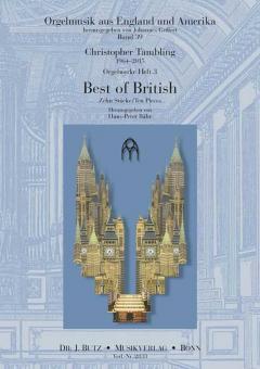 Orgelwerke 3: Best of British (10 Stücke)