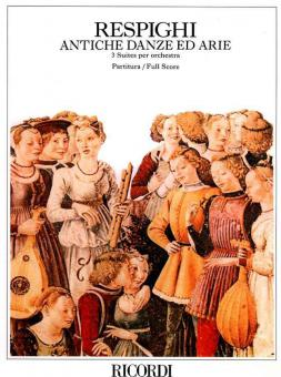 Antiche Danze Ed Arie per Liuto