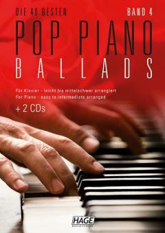 Pop Piano Ballads 4 (mit 2 CDs)