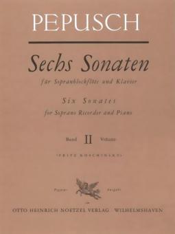 Sechs Sonaten Band 2