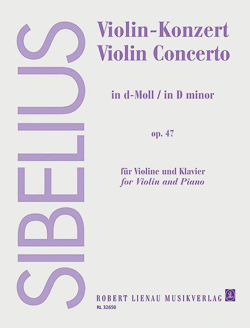 Violin-Konzert d-Moll op. 47 Standard