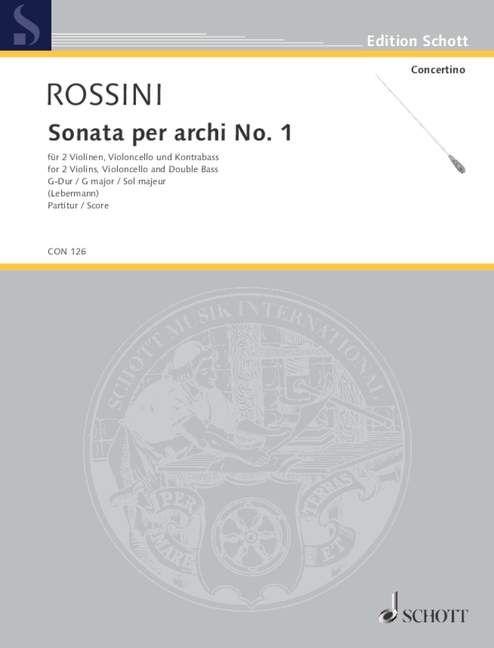 Sonata per archi Nr. 1 G-Dur Download