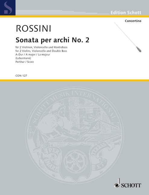 Sonata per archi Nr. 2 A-Dur Download