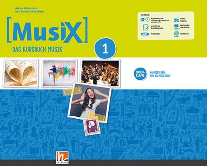 MusiX - Neuausgabe 2019 - Schülerband (Klasse 5/6)