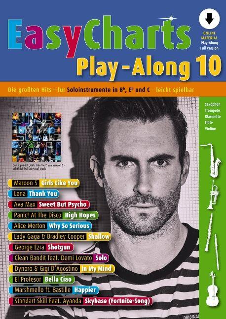 Easy Charts Play-Along 10