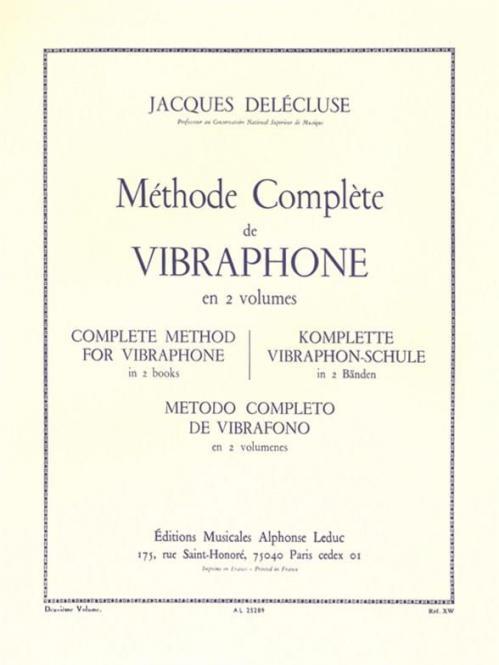 Methode de Vibraphone Vol.2