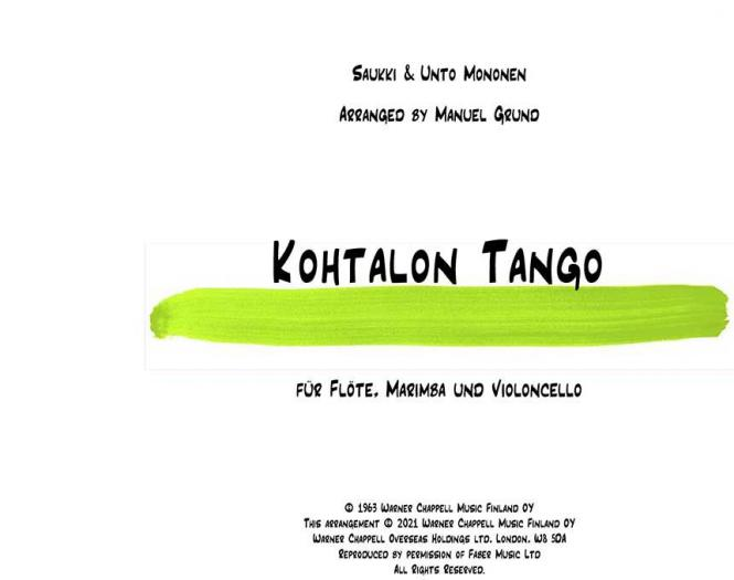 Kothalon Tango