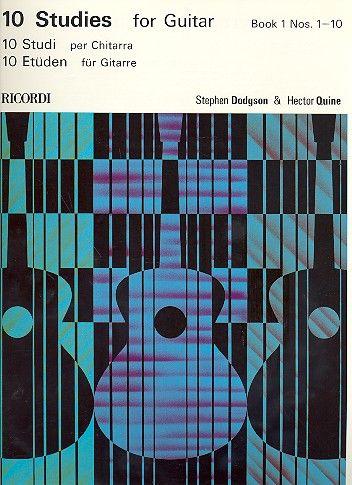 10 Studies For Guitar Vol. 1 Nos 1-10