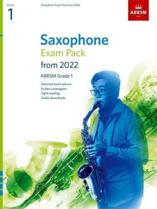 Saxophone Exam Pack 2022-2025 Grade 1
