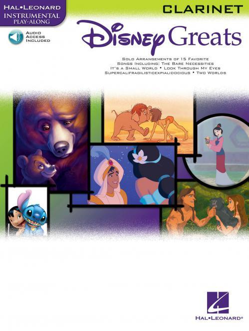 Disney Greats Clarinet
