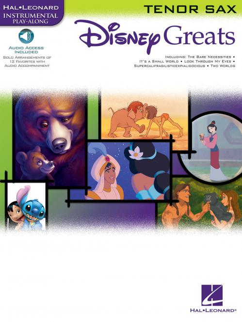 Disney Greats for Tenor Sax