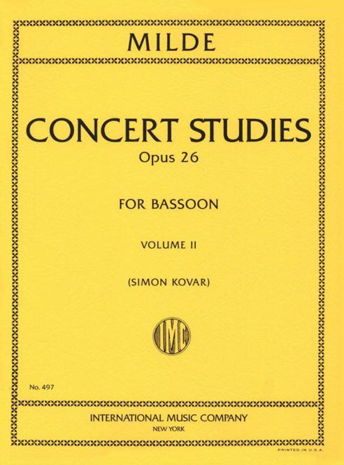 50 Concert Studies Op. 26 Vol. 2