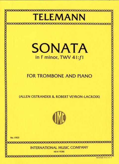 Sonata in F Minor (Ostrander / Veyron-Lacroix)