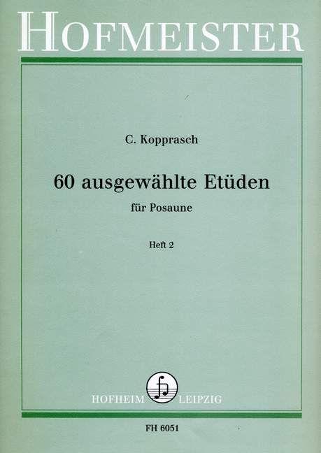 60 ausgewählte Etüden für Posaune Band 2