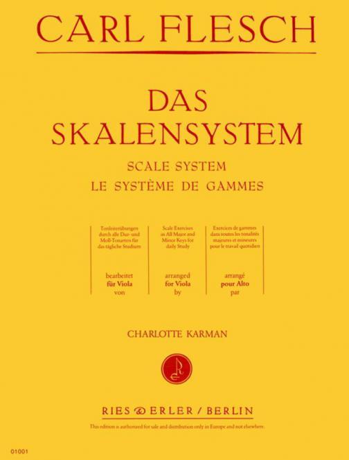 Das Skalensystem für Viola